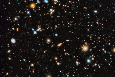 Hubble Photo Of The Early Universe