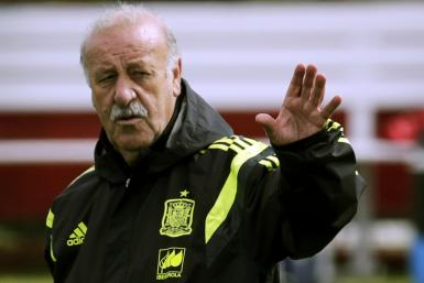 Vicente del Bosque Spain World Cup 2014