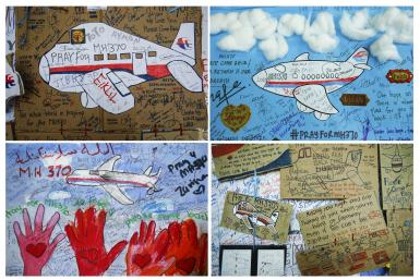 MH370_Children's Sketch