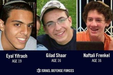 missing Israeli teenagers