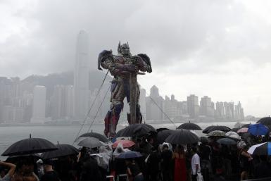 transformers age of exctintion china political
