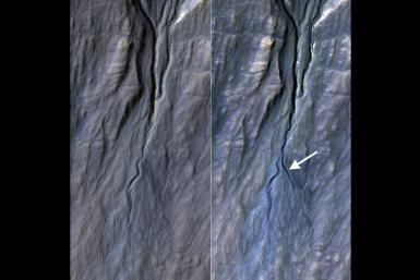 Mars-DryIce-Gullies