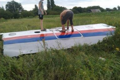 Malaysia Plane Crash Photo In Ukraine