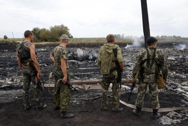 Pro-Russia Separatists MH17