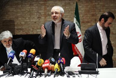 Iranian Foreign Minister in Vienna