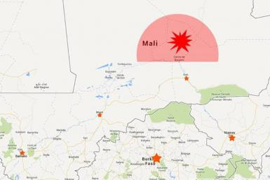 Likeliest Mali crash site