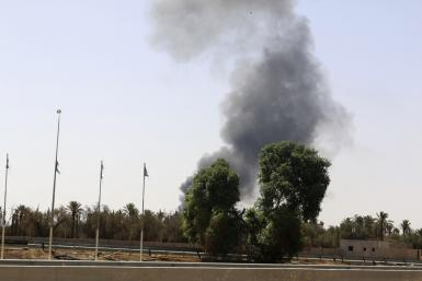 Libya airport clashes