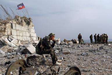 Pro-Russian separatists Donetsk