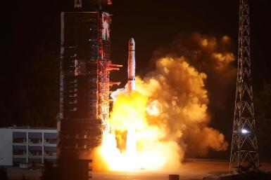 China communications relay satellite