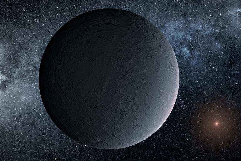 exoplanet cold Earth