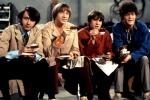 Davy Jones, second from right, was the lead singer of The Monkees.