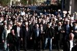 Jewish and Muslim leaders attend silent march to honour victims of shooting at Ozar Hatorah school in Toulouse