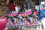 French Magazine Closer Carrying Kate Middleton's Topless Pictures Out on Stands
