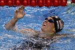 Beisel of U.S. reacts after winning women's 400m individual medley final at 14th FINA World Championships in Shanghai