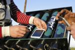 Syrian fighters use iPhone