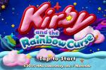 Kirby Rainbow Curse Title Screen