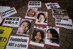 CHINA-RIGHTS-female-activists