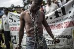 South Africa xenophobia protest