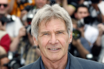 Harrison Ford flying helicopter