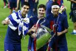 Lionel Messi, Neymar and Luis Suárez