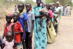 South Sudan displaced residents