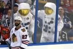 Chicago Blackhawks defenseman Johnny Oduya