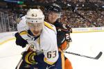 Mike Ribeiro checked by Simon Despres
