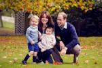 Britain's Prince William, his wife Kate, and their children George and Charlotte