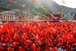 Seychelles Lepep party rally