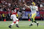 Aaron Rodgers Packers Falcons