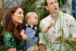 Kate Middleton, Princes George and William