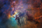 Lagoon Nebula in Visible Light