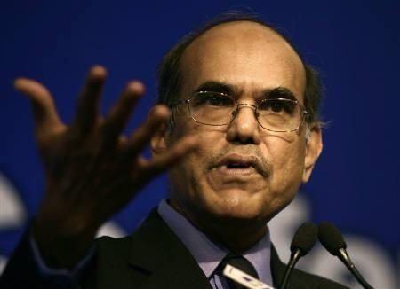 RBI Governor Duvvuri Subbarao speaks at a business conference in New Delhi March 26, 2009.