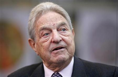 George Soros does not have a favorable view of how Germany of handling the Eurozone debt crisis.