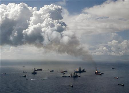 The BP Oil Spill Site in the Gulf of Mexico