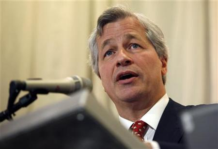 JPMorgan Chase & Co CEO Dimon speaks at the Stanford Institute for Economic Policy Research at Stanford University in Palo Alto