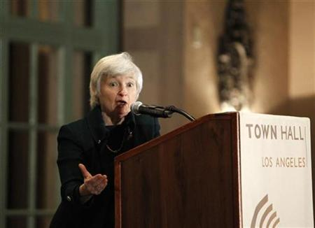 Federal Reserve vice chairwoman Janet Yellen