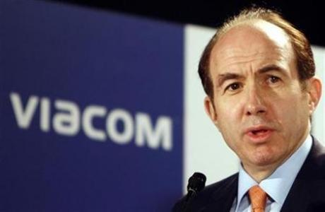 Viacom Chief Executive Philippe Dauman in a file photo