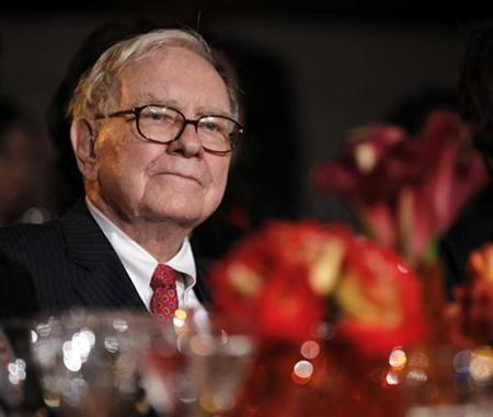 Warren Buffett is pictured in the audience at the 2010 Fortune Most Powerful Women Summit in Washington