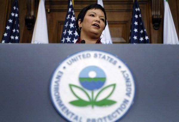 U.S. Environmental Protection Agency Director Lisa Jackson.