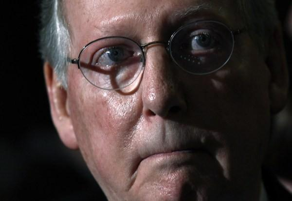 U.S. Senate Minority leader Mitch McConnell, R-KY.