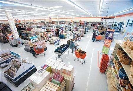 An interior of Big Lots store