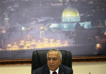 Palestinian Prime Minister Salaam Fayyad