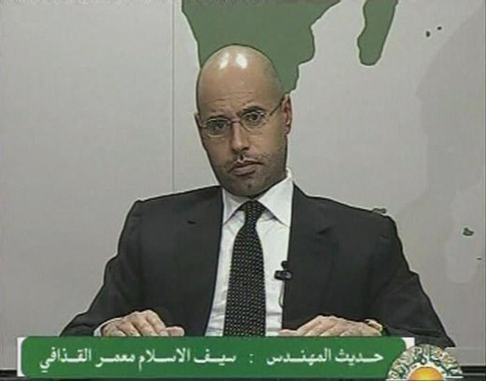 Gaddafi's son Seif wounded in gunfire, dictator has fled: Muslim Brotherhood