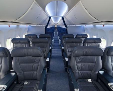 Boeing Celebrates The Delivery Of The First Sky Interior
