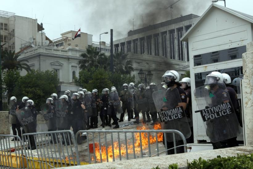 Athens protest