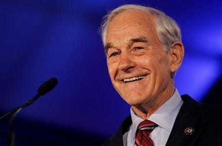 Representative Ron Paul (R-TX) speaks during the Republican Leadership Conference in New Orleans, Louisiana June 17, 2011.
