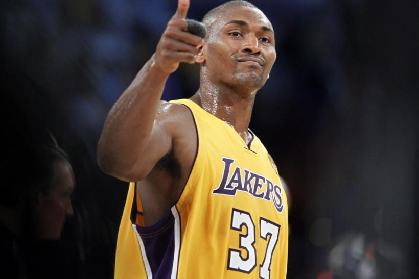 Ron Artest Wants to Be Called Mr. 'Metta World Peace'