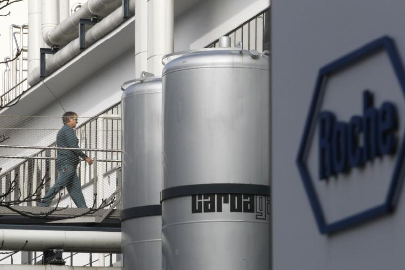Worker at Roche