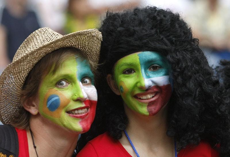 Supporters of Brazil